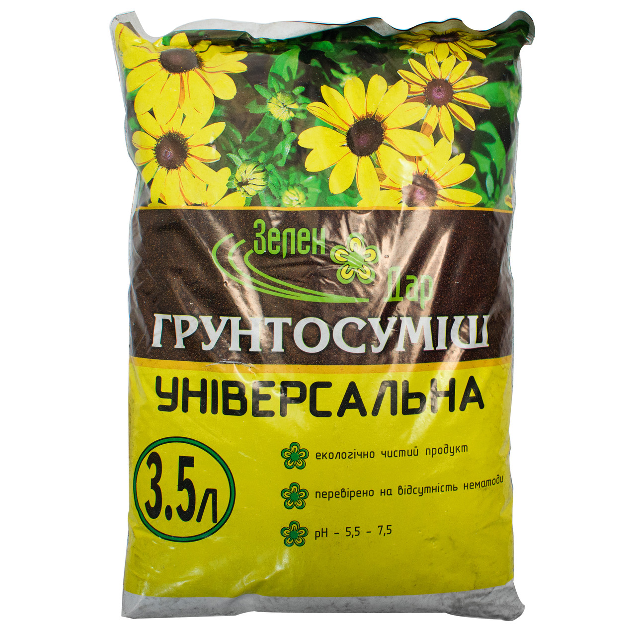 Грунтосмесь универсальная 3.5 л Зелен Дар