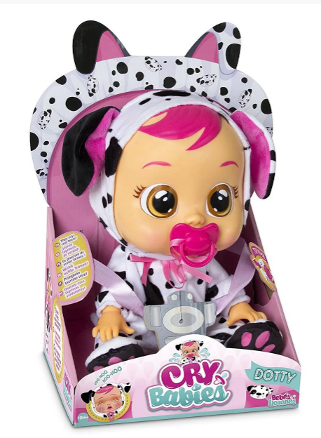 Интерактивная кукла пупс Плачущий младенец Плакса Дотти Cry Babies Dotty