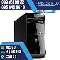 Системный блок Б/У HP 3500 pro G2030 4gb DDR3 250gb HDD компьютер