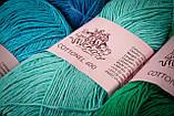 Пряжа хлопковая Vivchari Cottonel 400, Color No.2014 яркий розовый, фото 2