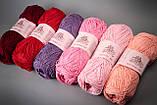 Пряжа хлопковая Vivchari Cottonel 400, Color No.2014 яркий розовый, фото 4