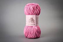 Пряжа хлопковая Vivchari Cottonel 400, Color No.2014 яркий розовый