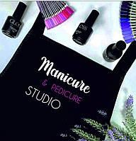 """Фартук с надписью """"Manicure e pedicure studio"""""""