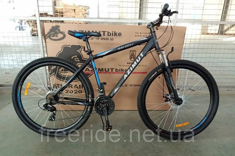 Горный Велосипед Azimut Spark 29 G-FR/D (19 рама)
