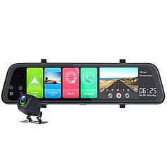 Зеркало видеорегистратор DVR Car Lesko D95 Bluetooth GPS навигатор угол обзора 170° Android