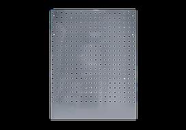 Панель перфорированная серая задняя угловая 800 x 25 x 1052