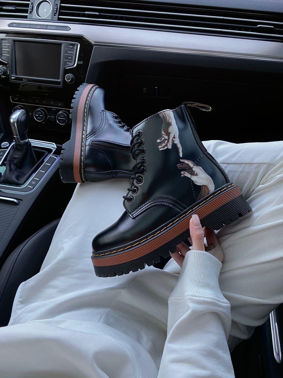 Демісезонні черевики DR Martens / Доктор Мартінс / Руки Мікеланджело