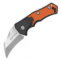 Нож складной Lansky Madrock World Legal (длина: 172мм, лезвие: 70мм), черно-оранжевый