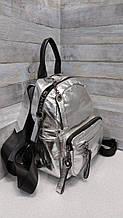 Молодіжний рюкзак з натуральної шкіри (7773)