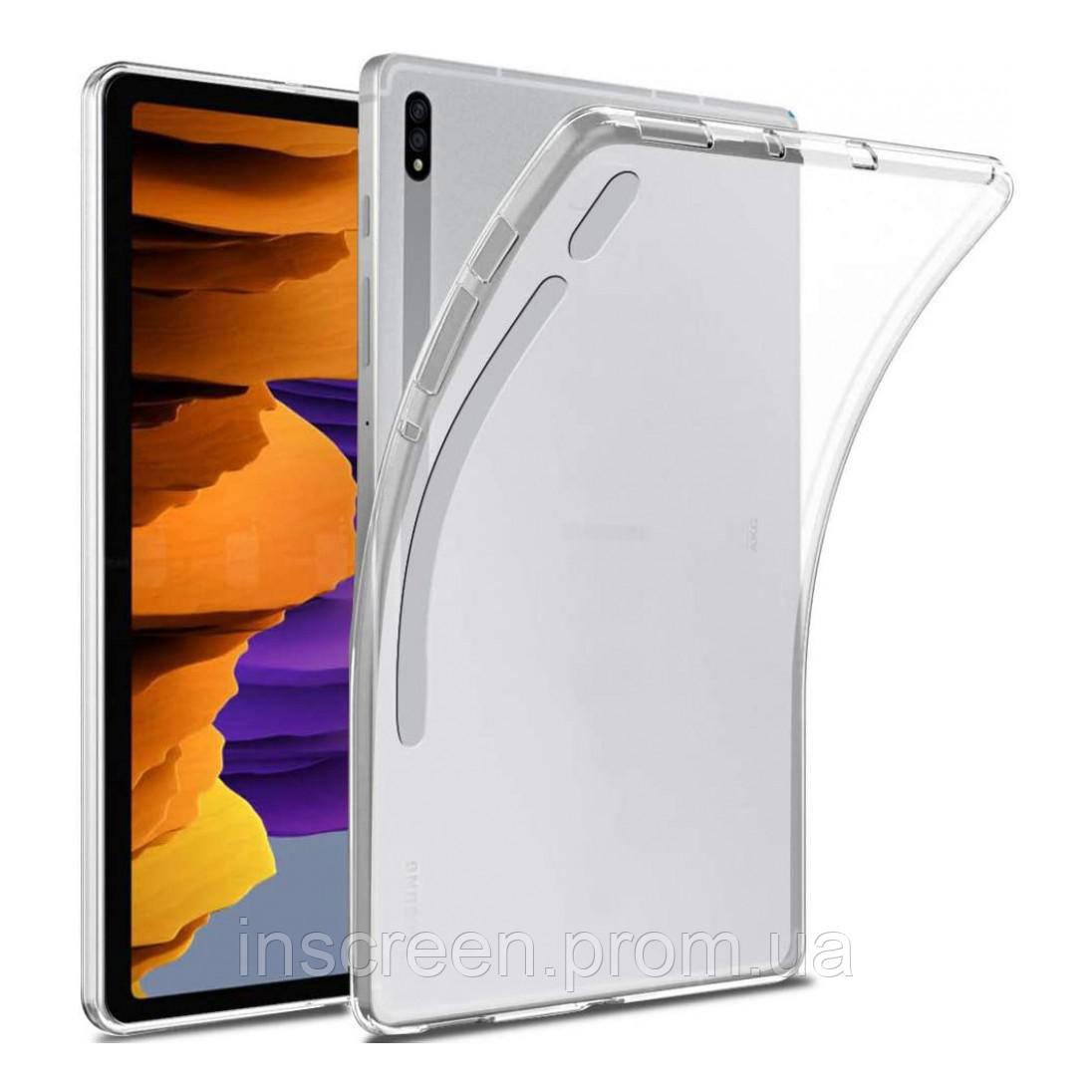 Чохол силіконовий Samsung T975 Tab S7 Plus 12,4 прозорий
