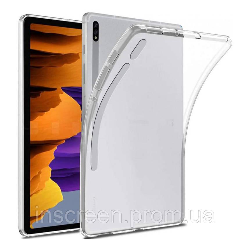 Чохол силіконовий Samsung T975 Tab S7 Plus 12,4 прозорий, фото 2