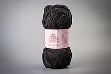 Пряжа хлопковая Vivchari Cottonel 400, Color No.2022 черный
