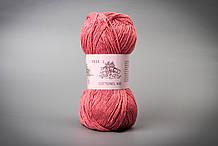 Пряжа хлопковая Vivchari Cottonel 400, Color No.2023 коралловый