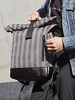 Подарок для парня - городской роллтоп рюкзак