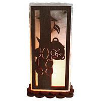 Соляна лампа SaltLamp Медведик 2 кг