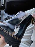 Демисезонные ботинки DR Martens / Доктор Мартинс / Руки Микеланджело, фото 8