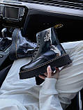 Демисезонные ботинки DR Martens / Доктор Мартинс / Руки Микеланджело, фото 6