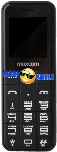Мобильный телефон Maxcom MM111 Black Гарантия 12 месяцев