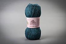 Пряжа хлопковая Vivchari Cottonel 400, Color No.2024 синий джинс