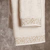 Мягкое банное полотенце Marble 85х150