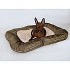 Лежак-понтон для собак Gold Sand 80x60см, фото 6