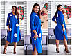 Повседневное женское платье большого размера, размеры 46-48, 50-52, 54-56, 58-60, фото 2