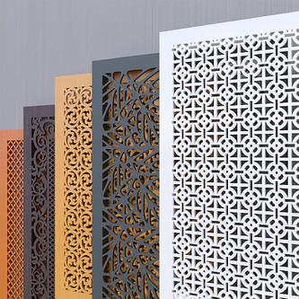 Ламинированные Решетки ХДФ на Радиатор SMARTWOOD home