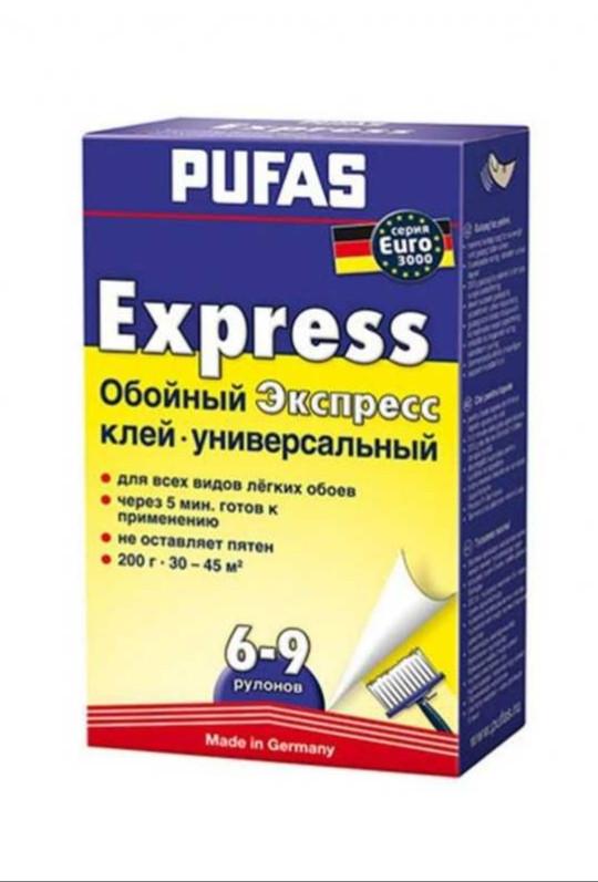 Клей для обоев PUFAS Экспресс 200 гр.