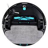 Робот-пилосос з вологим прибиранням Viomi Cleaning Robot V3 Black (V-RVCLM26B), фото 4