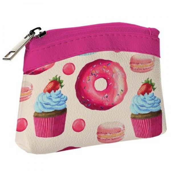 Детский кошелек KID Розовые пироженки, Детские сумочки, кошельки