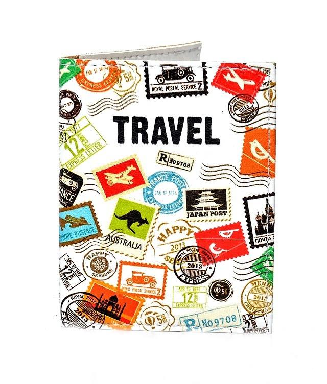 Обложка на ID паспорт Travel марки, Обложки на ID-карты и пластиковые права