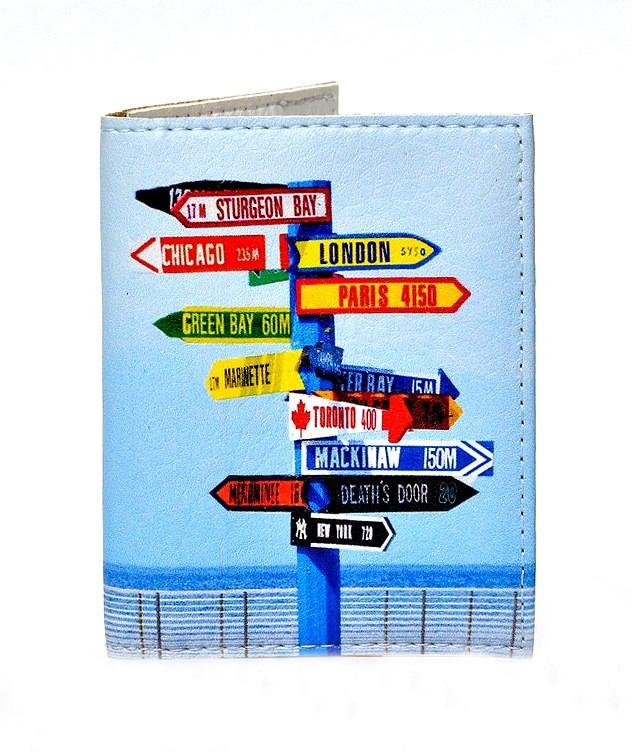 Обложка на ID паспорт Нулевой километр, Обложки на ID-карты и пластиковые права