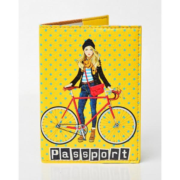 Обложка для паспорта Городские прогулки, Обложки на Укр/Загранпаспорт