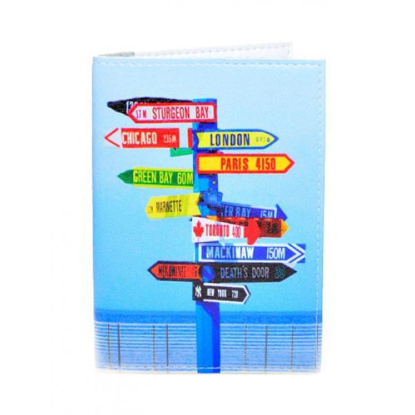 Обложка для паспорта Нулевой километр, Обложки на Укр/Загранпаспорт