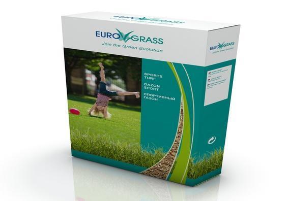 Спортивна насіння газонної трави (Euro Grass СДБ)