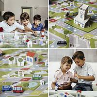 Детская настольная игра Бумажный город, Раскраски для детей