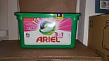 Капсулы для стирки Ариэль для цветных вещей  Ariel Fresh Sensation Pods 3in1 Color  43 шт, фото 2