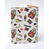 Обложка для паспорта Путешествие, Обложки на Укр/Загранпаспорт, фото 3