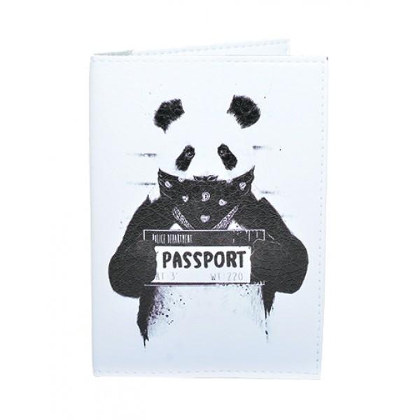 Обложка для паспорта Панда, Обложки на Укр/Загранпаспорт