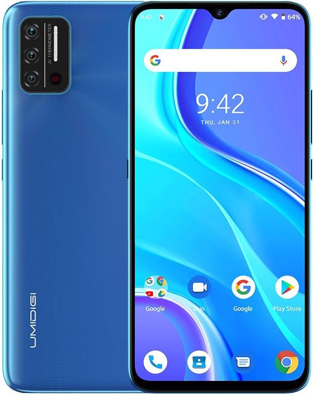 UMIDIGI A7S   Синий   2/32 Гб   4G/LTE   Гарантия