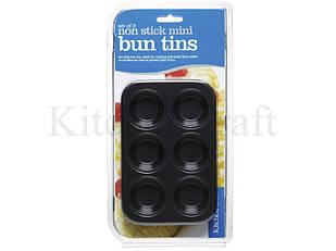 Формы для выпечки мини кексов с антипригарным покрытием 15см х 10см 2 ед
