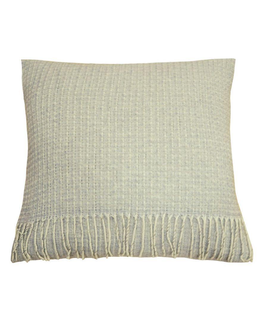 Декоративная подушка ANDGERS grey с бахромой 45х45см