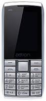 Кнопочный телефон с мощной батареей, хорошей камерой и мп3 плеером на 2 сим карты AELion A600 Metal/Silver