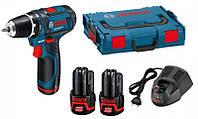 Аккумуляторный шуруповерт Bosch GSR 12V-15 (L-Boxx) (0601868109)