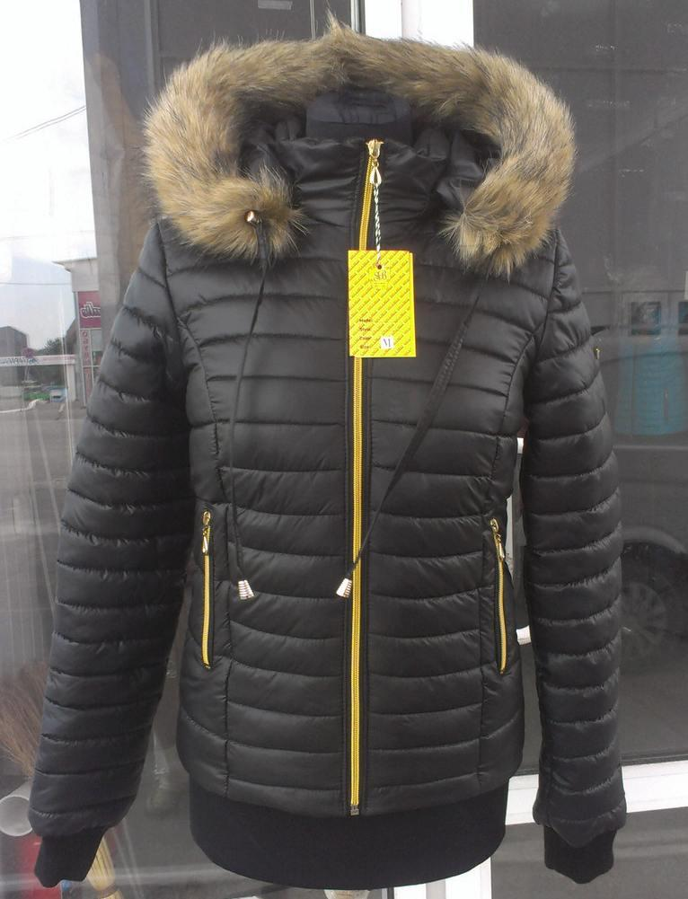 Куртка женская зимняя короткая модель ДЗ, размеры от 42 до 54