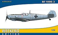 1:32 Сборная модель самолета Messerschmitt Bf 109E-3, Eduard 3402