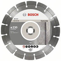 Круг алмазный Bosch Expert for Concrete 230 x 22,23 x 2,4 x 12 mm