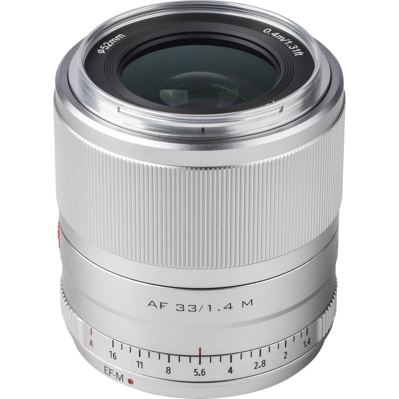 Об'єктив VILTROX 33mm f/1.4 M (AF 33/1.4 M) (Canon EF-M) - автофокусный