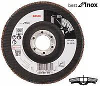 Круг шлифовальный лепестковый Bosch K80 125 мм Best for Inox