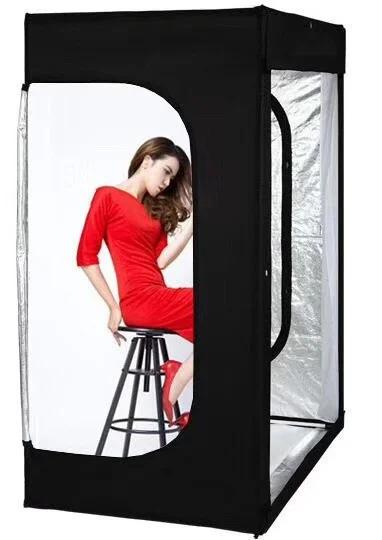 Лайтбокс (фотобокс), кублайт с LED светом CY-160 для предметной фотосъемки 160 x 120 x 80 см